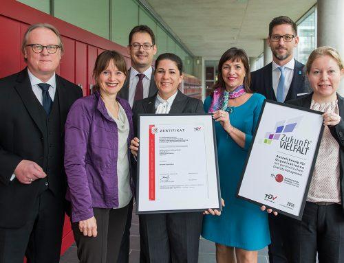 Fachhochschule Salzburg erhält ZukunftVIELFALT® Auszeichnung